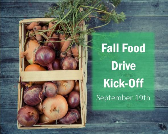 2018 Fall Food Drive Kick-Off