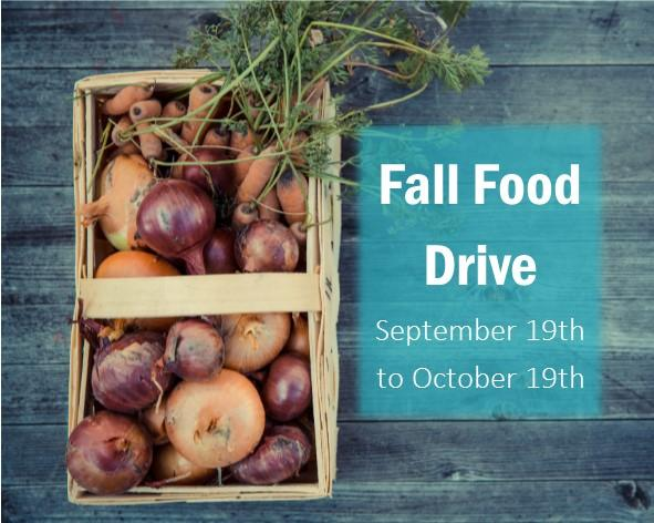 2018 Fall Harvest Food Drive