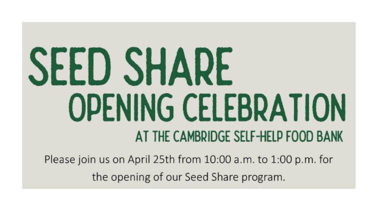 Seed Share Launch Celebration