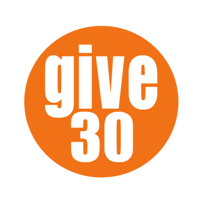 Give 30 at the Cambridge Self-Help Food Bank