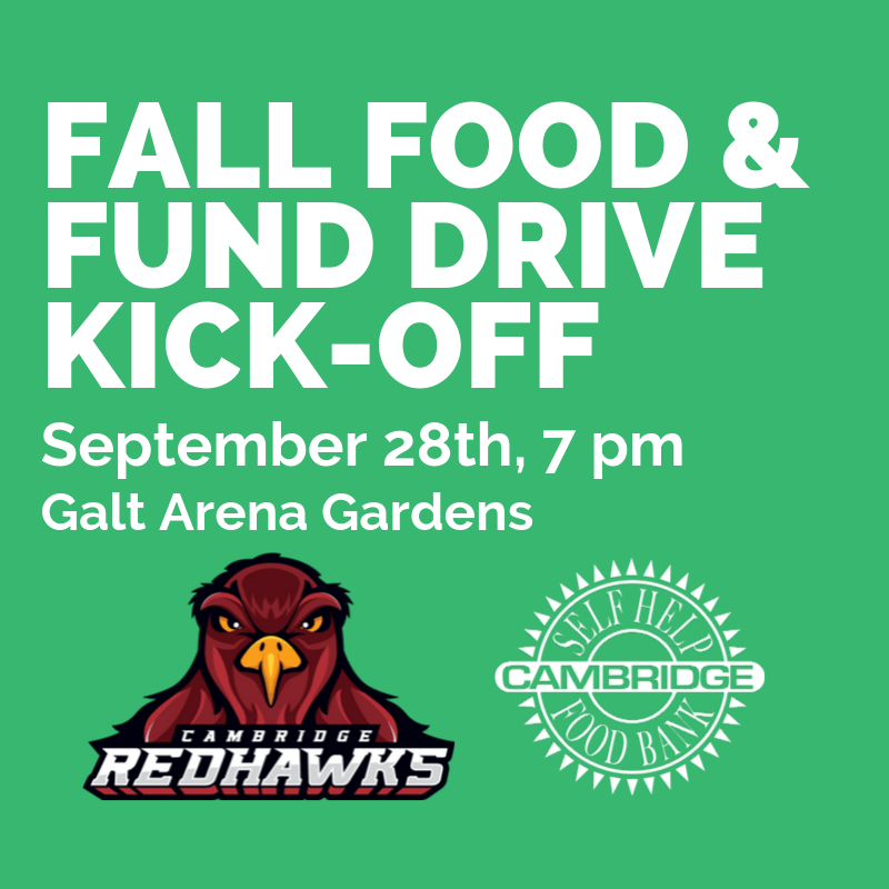 2019 Fall Food and Fund Drive Kick-Off